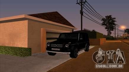 Mercedes G55 Kompressor para GTA San Andreas