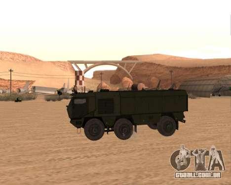 KAMAZ 63968 Tufão para GTA San Andreas esquerda vista