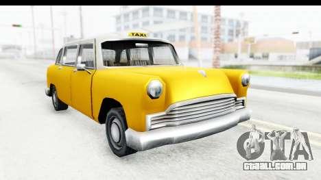 Cabbie London para GTA San Andreas