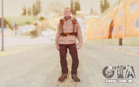 COD BO Russian Soldier v2 para GTA San Andreas segunda tela