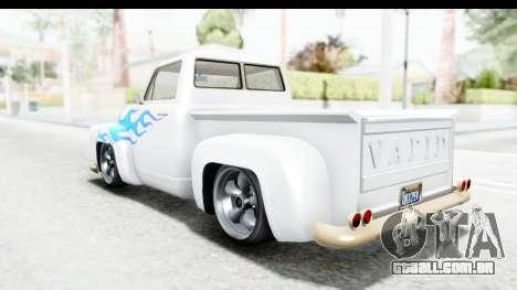 GTA 5 Vapid Slamvan without Hydro IVF para o motor de GTA San Andreas