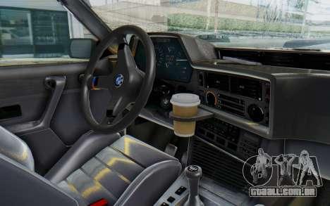 BMW M635 CSi (E24) 1984 IVF PJ2 para GTA San Andreas vista traseira