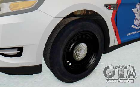 Ford Taurus Indonesian Traffic Police para GTA San Andreas vista traseira