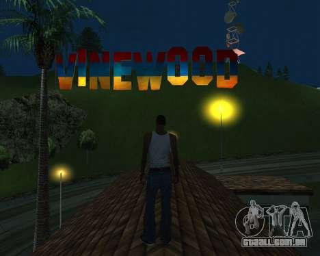New Vinewood Armenia para GTA San Andreas