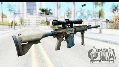 CoD Ghosts - G-28 Desert Camo para GTA San Andreas segunda tela