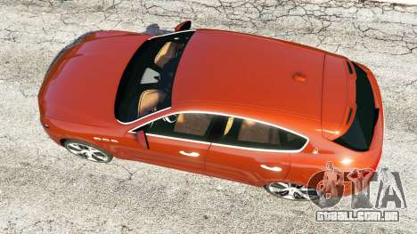 GTA 5 Maserati Levante 2017 voltar vista
