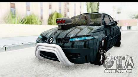Renault Megane Sport para GTA San Andreas vista direita