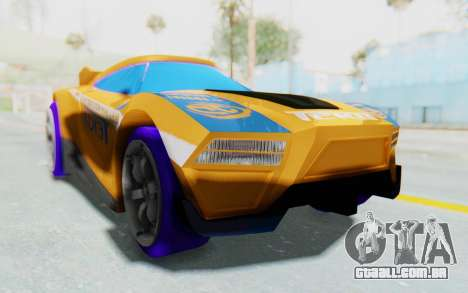 Hot Wheels AcceleRacers 4 para GTA San Andreas vista direita