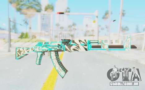 CS:GO - AK-47 Front Side Misty para GTA San Andreas