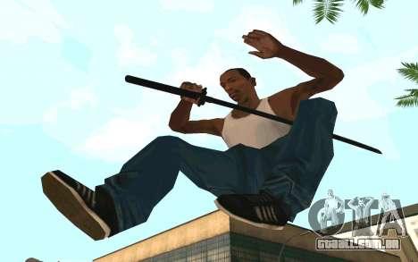 Sword of Blades para GTA San Andreas segunda tela