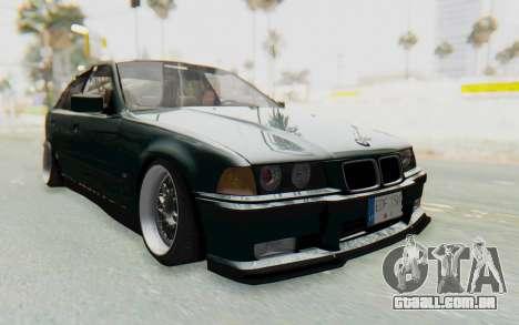 BMW 325tds E36 para GTA San Andreas vista direita
