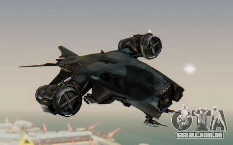 HK Aerial from Terminator Salvation para GTA San Andreas