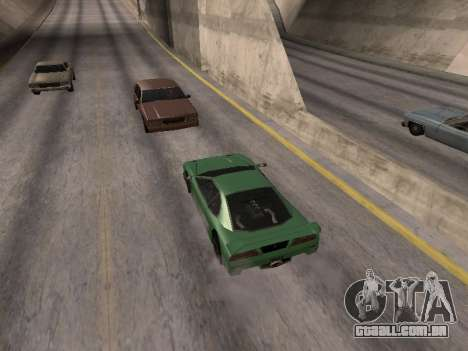 À frente para GTA San Andreas segunda tela