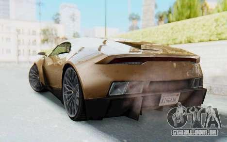 GTA 5 Pegassi Reaper SA Lights para GTA San Andreas esquerda vista