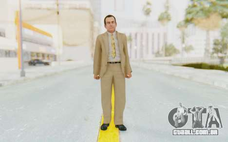 Mafia 2 - Eddie Scarpa para GTA San Andreas segunda tela