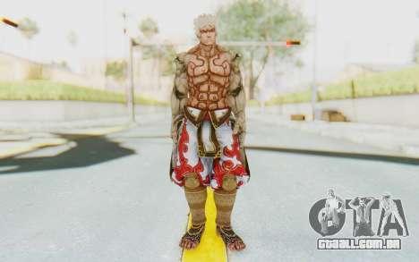 Asura Skin para GTA San Andreas segunda tela