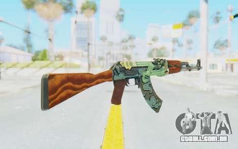 CS:GO - AK-47 Fire Serpent para GTA San Andreas segunda tela