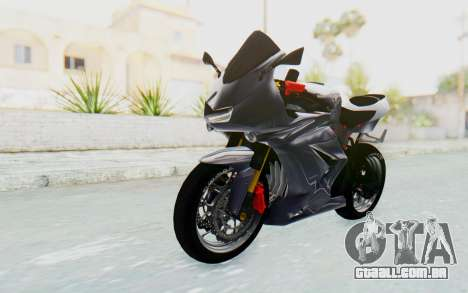 Kawasaki Ninja 250R Streetrace v2 para GTA San Andreas vista direita