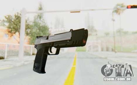 HK USP 45 Chrome para GTA San Andreas