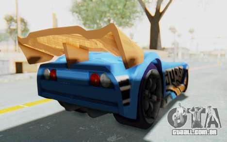 Hot Wheels AcceleRacers 1 para GTA San Andreas esquerda vista