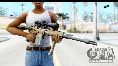 CoD Ghosts - G-28 Desert Camo para GTA San Andreas terceira tela