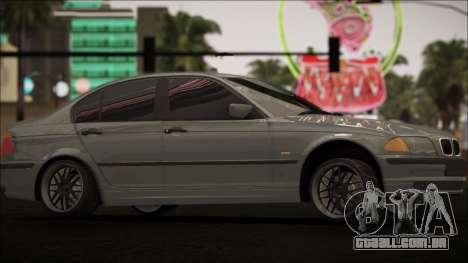 BMW E46 para GTA San Andreas vista interior