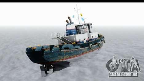 GTA 5 Buckingham Tug Boat v2 IVF para GTA San Andreas vista direita