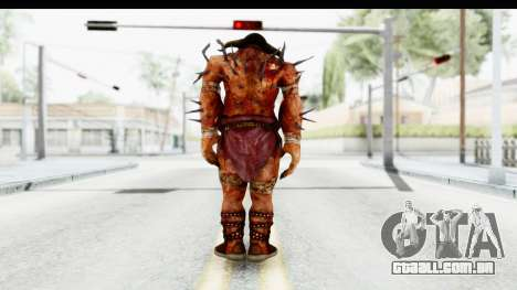 God of War 3 - Hades para GTA San Andreas terceira tela