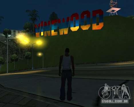 New Vinewood Armenia para GTA San Andreas terceira tela