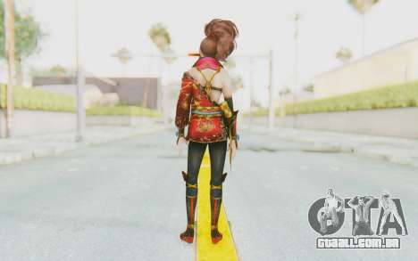 Samurai Warriors 4 - Kai para GTA San Andreas terceira tela