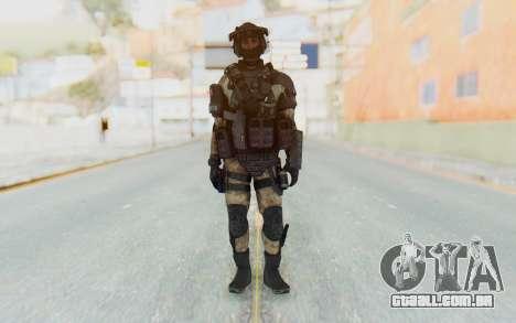 Federation Elite LMG Desert para GTA San Andreas segunda tela