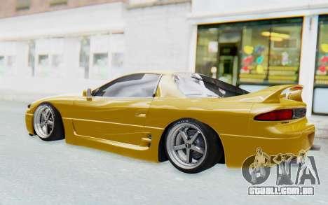 Mitsubishi 3000GT 1999 para GTA San Andreas vista traseira