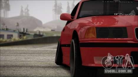 BMW E36 Stance para GTA San Andreas vista superior