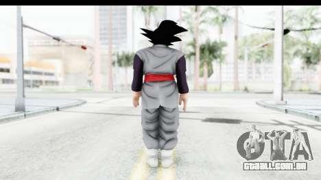 Dragon Ball Xenoverse Goku Black para GTA San Andreas terceira tela