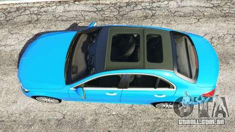 GTA 5 Mercedes-Benz C250 2014 voltar vista