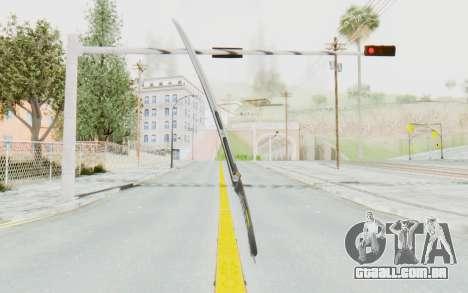 Yuri Katana para GTA San Andreas segunda tela