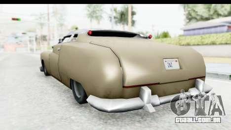Hermes Ratrod para GTA San Andreas vista direita
