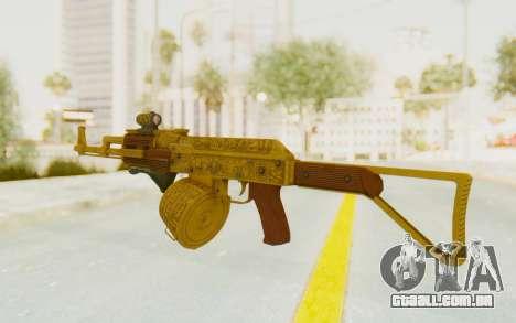 GTA 5 DLC Finance and Felony - Assault Rifle para GTA San Andreas segunda tela