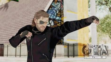 MGSV Phantom Pain BIG BOSS Leather Jacket para GTA San Andreas