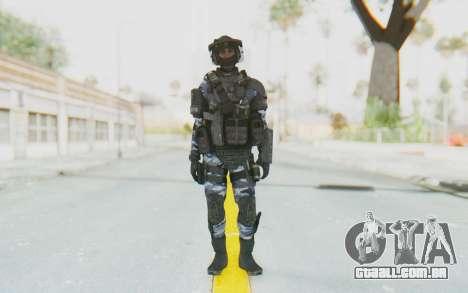 Federation Elite LMG Urban-Navy para GTA San Andreas segunda tela