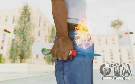 Hatsuni Miku Molotov para GTA San Andreas terceira tela