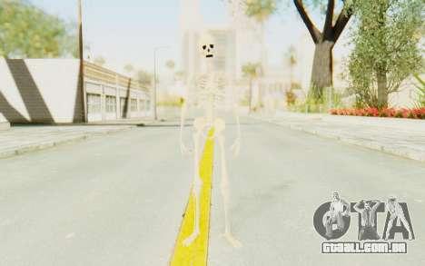 Skeleton para GTA San Andreas segunda tela
