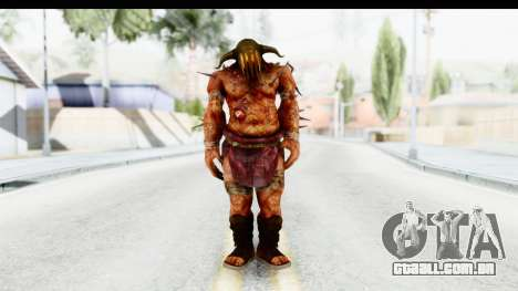 God of War 3 - Hades para GTA San Andreas segunda tela