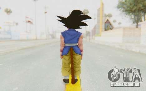 Dragon Ball Xenoverse Goku Kid GT SJ para GTA San Andreas terceira tela