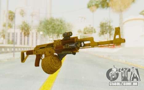 GTA 5 DLC Finance and Felony - Assault Rifle para GTA San Andreas