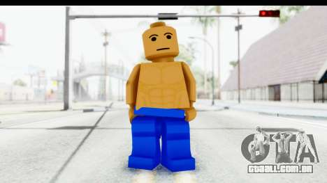 LEGO Carl Johnson para GTA San Andreas segunda tela