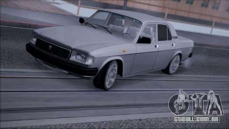 V8 de GÁS 31029 para GTA San Andreas