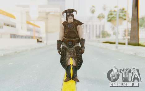 Skyrim - Dovahkiin para GTA San Andreas segunda tela