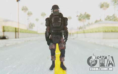 COD MW2 Russian Paratrooper v3 para GTA San Andreas segunda tela