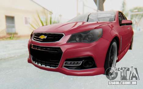 Chevrolet Super Sport 2014 para GTA San Andreas vista direita